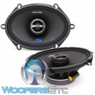 "Alpine S-S57 5"" x 7"" 75W RMS 2-Way Coaxial Speakers"