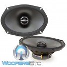 "Alpine S-S69 6""x9"" 85W RMS 2-Way Coaxial Speakers"