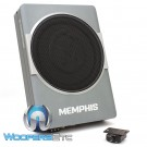 "Memphis SA110SPD 10"" 200W RMS 2-Ohm Nanoboxx Powered Under-seat Enclosed Subwoofer"