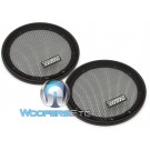 "Sundown Audio 6.5"" Steel Mesh Grills for SD Series Speakers(Pair)"