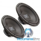 "Memphis SE1240 12"" 200W RMS Single 4-Ohm Subwoofers (PAIR)"