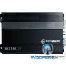 Memphis SE2000.1DF Amp Monoblock 2000W Subwoofers Speaker Bass Amplifier