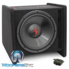 "Precision Power SNBX-112 Loaded Single 12"" 400W Powered Subwoofer Enclosure"