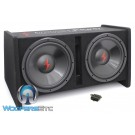 "Precision Power SNBX-212 Loaded Dual 12"" 800W Powered Subwoofer Enclosure"