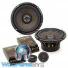 """Gladen SQL165 6.5"""" 150W RMS SQL Line Series 2-Way Component Speakers System"""