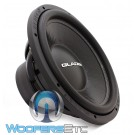 "Gladen SQX15 15"" 700W RMS 4-Ohm SQX Series Subwoofer"