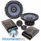 "Gladen SQX165 6.5"" 120W RMS SQX Line Series 2-Way Component Speakers System"