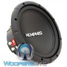 """Memphis SRX1044 10"""" 200W RMS Dual 4-Ohm Subwoofer"""