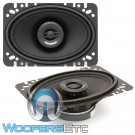 "Memphis SRX462 4"" x 6"" 50W RMS 2-Way Coaxial Speakers"