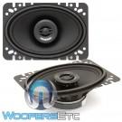 "Memphis SRX462 4"" x 6"" 50W RMS 2-Way Coaxial Speakers"