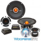 "Memphis SRXP62C 6.5"" 125W RMS 2-Way Component Speakers System"
