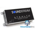 Soundstream ST2.1000D 2-Channel 500W RMS Class D Stealth Series Amplifier