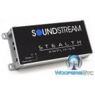 Soundstream ST2.1000D 2-Channel 500W RMS Class D Stealth Series Amplifier