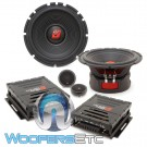 "Cerwin Vega ST65C 6.5"" 250W RMS 2-Way Component Speakers System"