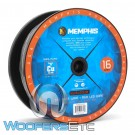 Memphis SW16LED120 120ft 16-Gauge 100% Pure Copper Speaker Wire and 20-Gauge RGB LED Wire Marine-Rated Cable