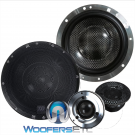 """Supremo 602 Active - Morel 6.5"""" 2-Way 140W RMS Supremo Series Component Speakers System (No Crossovers)"""