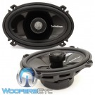 "T1462 - Rockford Fosgate 4"" x 6"" Power Series 2-way Coaxial Speakers"