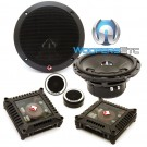 "Rockford Fosgate T1650-S 6.5"" 80W RMS 2-Way Euro Fit Compatible Component Speakers"