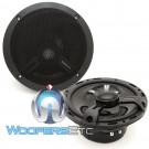 """T1650 - Rockford Fosgate 6.5"""" 75W RMS 2-Way Coaxial Speakers"""