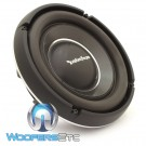 """Rockford Fosgate T1S1-10 10"""" 500W RMS Single 1-Ohm Shallow Subwoofer"""