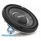 "Rockford Fosgate T1S1-12 12"" 600W RMS Single 1-Ohm Shallow Subwoofer"