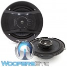 "Pioneer TS-A1676S 6.5"" 320W 3-Way Coaxial Speakers System"