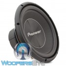 "Pioneer TS-A300D4 12"" 500W RMS Dual 4-Ohm A Series Subwoofer"
