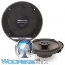 "Pioneer TS-G1620F 6.5"" 300W G-Series 2-Way Coaxial Car Speakers"