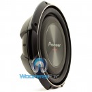 "TS-SW3002S4 - Pioneer 12"" 1500W Single 4-Ohm TS Series Shallow Mount Subwoofers"