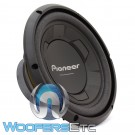 "Pioneer TS-W106M 10"" 250W RMS Single 4-Ohm Subwoofer"