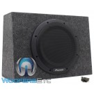"Pioneer TS-WX1210A 12"" 350W RMS Single Sealed Enclosed Subwoofer with Built-in Amplifier"