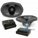 "Diamond Audio TX69V-XO 6"" x 9"" 70W RMS 2-Way Component Coaxial Speakers System"