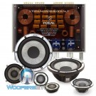 "Focal Utopia Be No. 7 6.5"" 100W RMS 3-Way Component Speakers System"