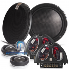 """Morel VIRTUS NANO CARBON 62 6.5"""" Slim Component Speakers with Tweeters and Crossovers"""