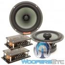 """Memphis VIV62 6.5"""" 75W RMS SixFive Series 2-Way Coaxial Speakers"""