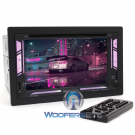"""Soundstream VR-64HBL 6.2"""" CD DVD Bluetooth USB Android 300W Car Stereo"""