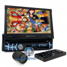 "pkg. Soundstream VR-720B 7"" DVD CD Bluetooth Android Phonelink USB + HTC36 Camera"