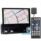 "Soundstream VRN-75HB In-Dash 1-DIN 7"" DVD Receiver with Bluetooth, GPS Navigation and Android PhoneLink"