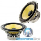 "Focal W/ES165K 6.5"" 100W RMS K2 Power Series Midbass Drivers from ES-165K Component Set"