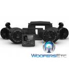 Rockford Fosgate RZR14-STG2 Audio Kit for Select 2014-Up Polaris RZR Models