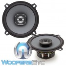 "Hertz X130 5.25"" 40W RMS 2-Way Uno System Coaxial Speakers"