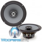"Hertz X165 6.5"" 55W RMS 2-Way Uno Systems Coaxial Speakers"