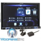 "Alpine X208U 8"" Touchsceen Digital Media Receiver with GPS Navigation and Apple CarPlay"