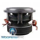 "Soundstream X5.12 Team 12"" Tarantula 7500W Dual 1 Ohm Subwoofer Bass Speaker"
