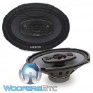 "Hertz X690 6"" x 9"" 85W RMS 4-Way Uno Systems Coaxial Speakers"