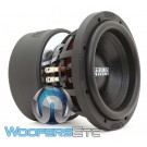 "Sundown Audio X-8 V.3 D4 8"" 800W RMS Dual 4-Ohm X-V3 Series Subwoofer"