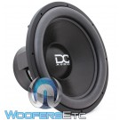"DC Audio XL M4 18 D1 18"" Dual 1-Ohm 2200W RMS Subwoofer"