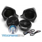 Rockford Fosgate YXZ-UPPER Add-on Speaker Kit for Select Yamaha YXZ Models