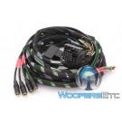 Mosconi Z-PP-QL-4CH 5M 4-Channel Quadlock Wiring Harness