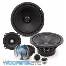 """Gladen ZERO PRO 165.3 ACTIVE 6.5"""" 120W RMS 3-Way Component Speakers System"""